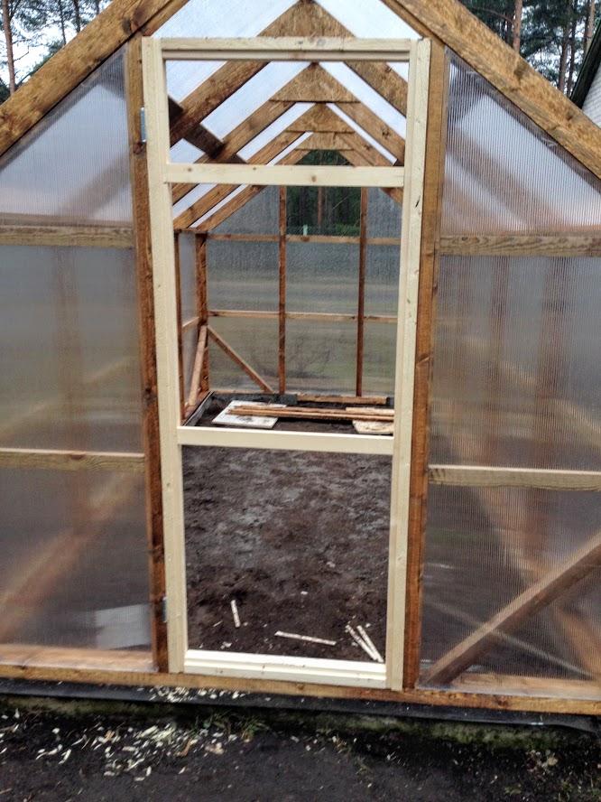 kasvuhoone ehitamine