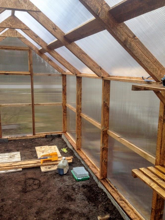 kasvuhoone ise ehitamine