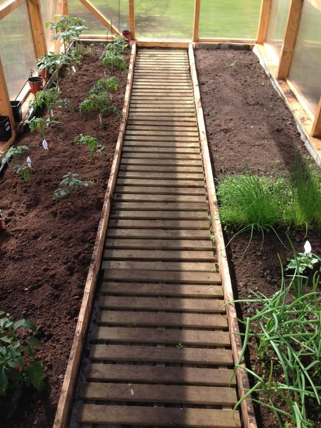 kasvuhoone kaunistamine