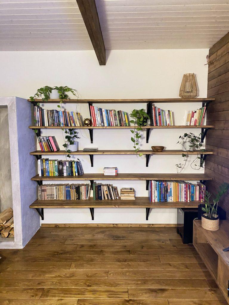 raamaturiiuli ehitamine
