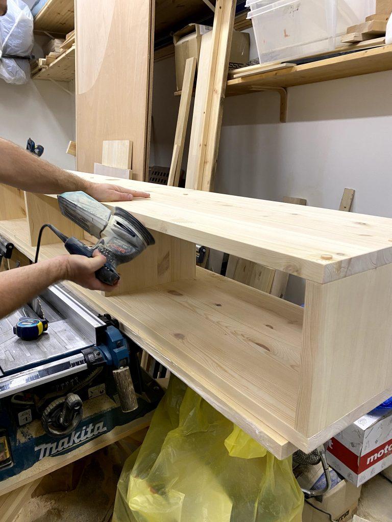 telekaaluse ehitamine puidust