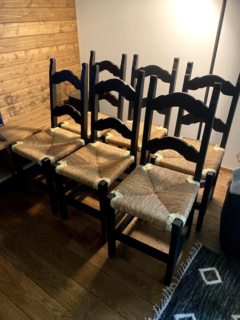 Fusion mineraalvärviga värvitud toolid